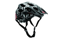 SixSixOne Recon Wired Helm schwarz/rot